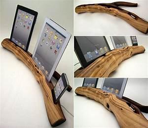 Holz Geschenke Selber Machen : bastelideen f r idock aus holz freshouse ~ Watch28wear.com Haus und Dekorationen
