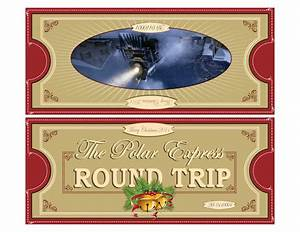 Polar express tickets fold 85x11 free printable polar for Polar express golden ticket template