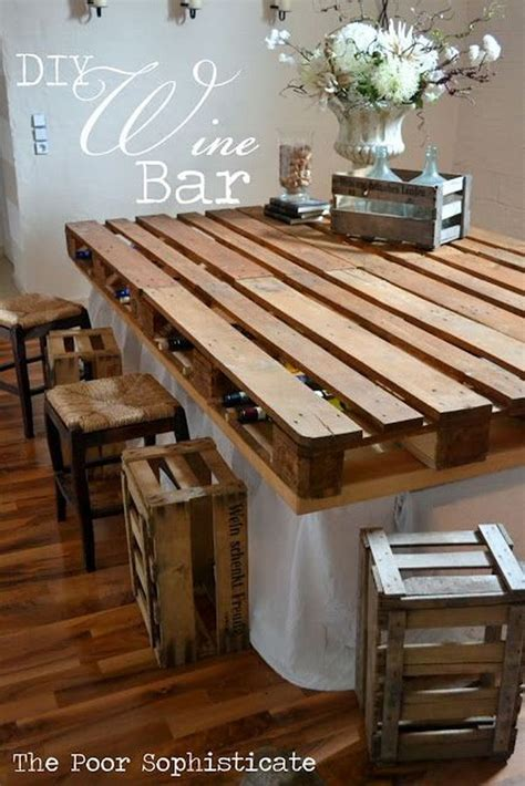 creative diy pallet furniture project ideas tutorials