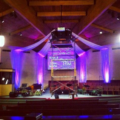 crown drapes churchstagedesignideascom church stage