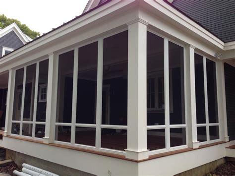 custom porch enclosures  screen rooms porch glass enclosures