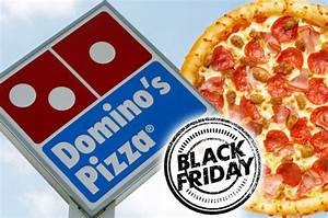 Dominoes Black Friday deal is offering half price pizzas ...