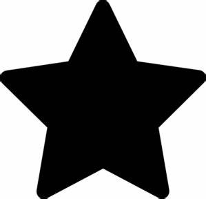 Solid Black Star Clipart | Clipart Panda - Free Clipart Images