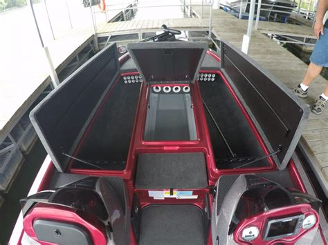 Boat Seat Locker by 2017 Charger 210 Elite Bass Boat Exchange