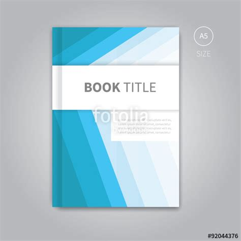 Book Cover Page Design Templates Free by Quot Vector Book Cover Template Design Brochure Background