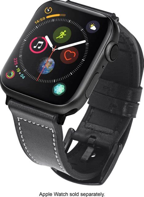 hybrid leather sport band  apple  mm