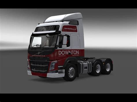 downton delivers truck skin pack   ets euro truck