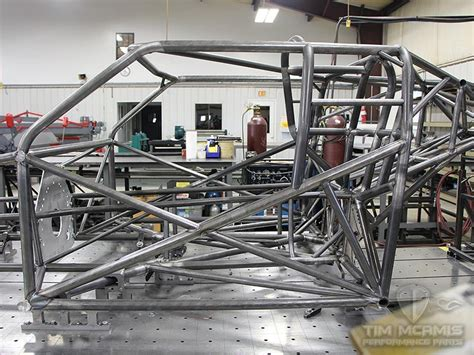 Pro Mod Blown Welded Chassis (double Frame Rail