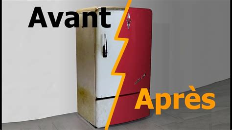 laho restauration dun frigo vintage en cave  vin youtube