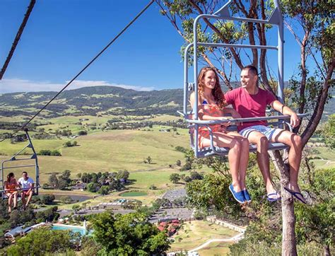 chairlift jamberoo theme park water park family