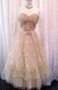 Blush Vintage Lace Wedding Dresses