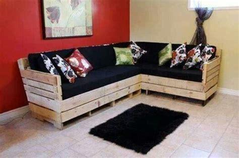 canapé avec des palettes 30 idées incroyables pour fabriquer un canapé en palette