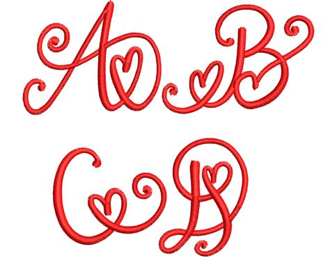crafty heart mono mm font wilcomembroideryfontscom