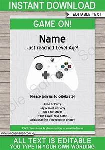 xbox invitation template gallery invitation sample and With xbox wedding invitations