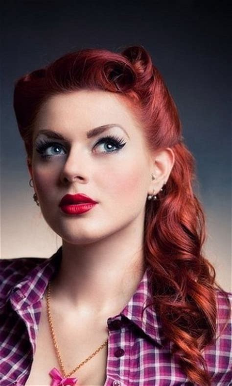 50s Pin Up Hairstyles by 15 Pin Up Hairstyles Easy To Make Yve Style