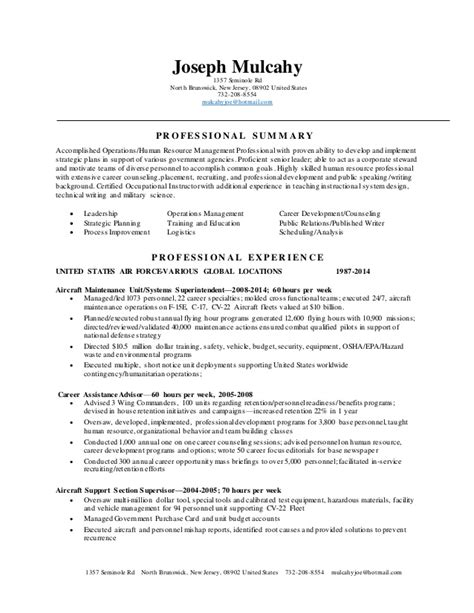 mulcahy resume jan 2015 copy