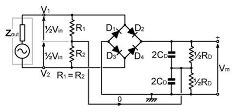 General Circuit Diagram The Bridge Rectifier Full