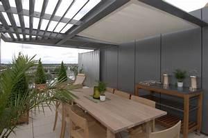 Dachterrasse Auf Flachdach Bauen : sonnenschutz f r die dachterrasse die optionen im berblick ~ Frokenaadalensverden.com Haus und Dekorationen
