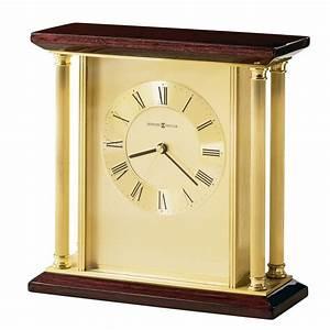 howard, miller, carlton, brass, table, clock, 645391