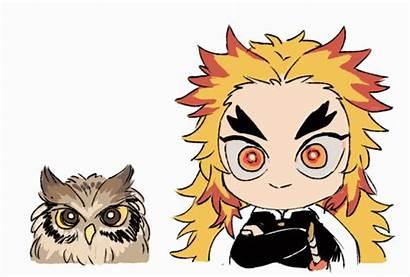 Rengoku Kyoujurou Anime Demon Slayer Chibi Kimetsu
