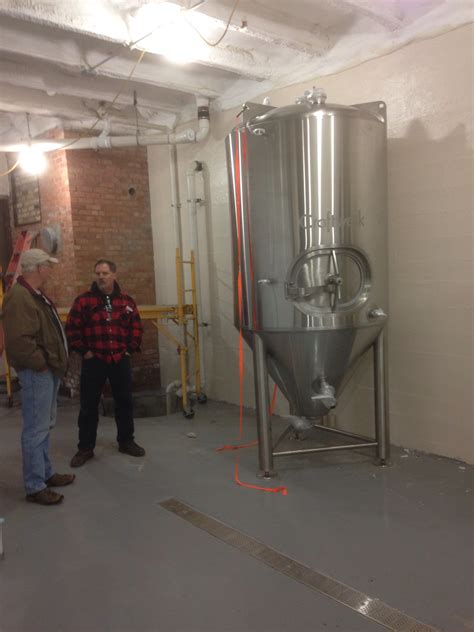 epoxy kitchen flooring cognition brewing company downtown ishpeming mi in the 7071
