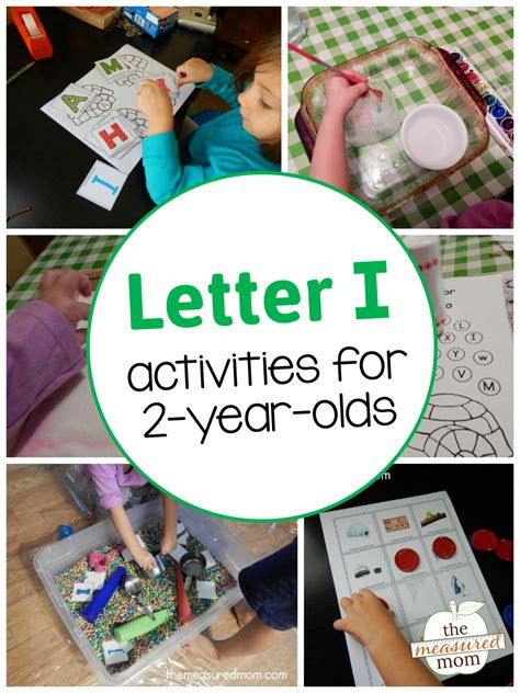 ornaments for two year olds to make letter i activities for 2 year olds the measured