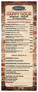 drink menu template food craftswebsite With happy hour menu template