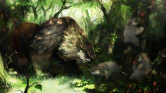 fantasy art dragons crown owlbear wallpapers hd