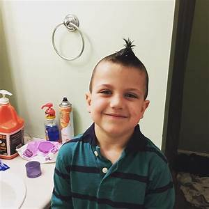 26+ Edgy Mohawks Hairstyles For Kids | Design Trends ...  Kid