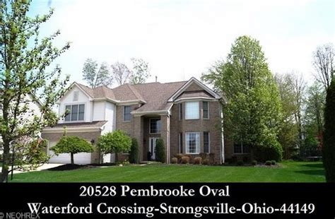 Homes For Sale In Strongsville Ohio by Cleveland Ohio Homes For Sale 20528 Pembrooke Oval
