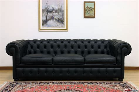 black and leather sofa chesterfield 3 seater sofa price and dimensions