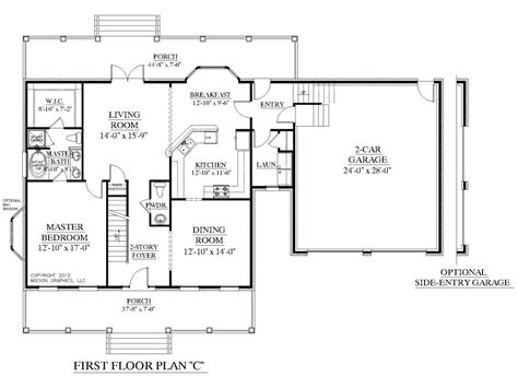 one floor plans with two master suites one house plans two master and with bedrooms