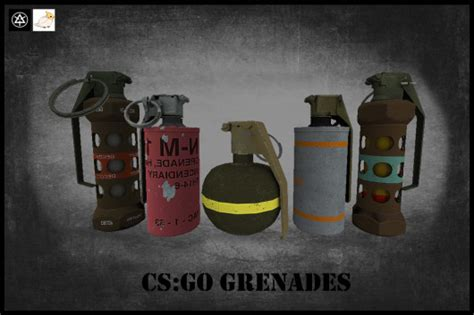 iiopns csgo grenades counter strike  skin mods
