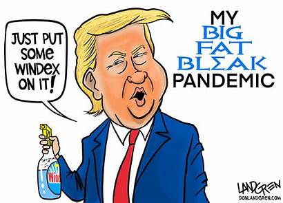Cartoon Disinfectant Trump Landgren Opinion Trumps Remedy