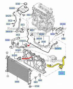 Brand New Oem Radiator Coolant Overflow Hose Assembly 2010