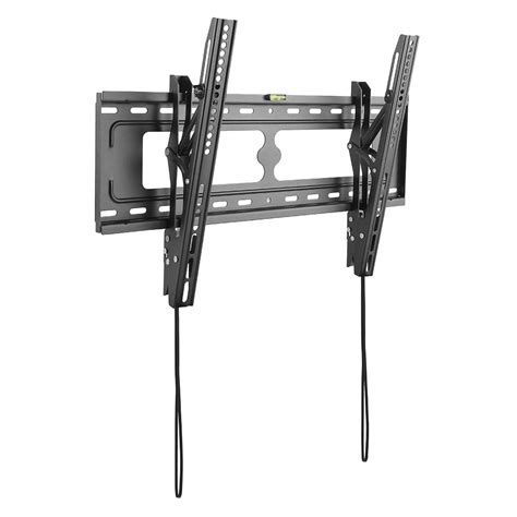 tv on wall mount inland low profile tilting tv wall mount for 37 in 70