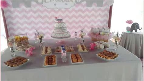 decoracion de mesa para baby shower decoracion baby shower tema elefante