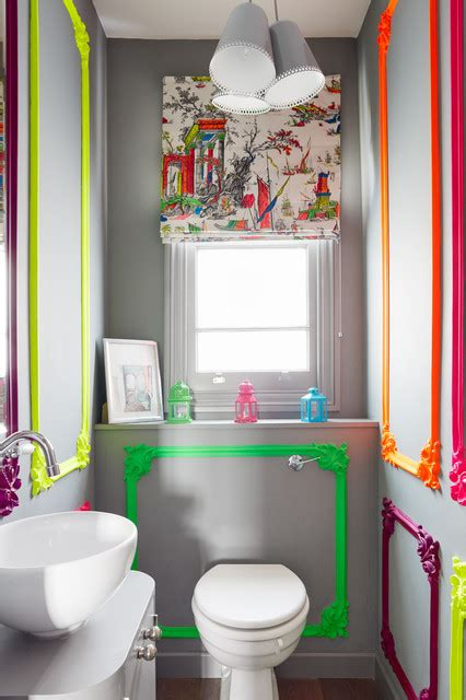 Chelsea Town House  Eclectic  Powder Room  London By