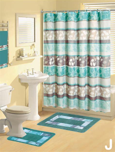 Shower Curtains  Pcs Set Modern Bath Mat Contour  Ee  Rug Ee