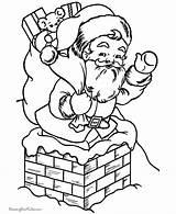Coloring Santa Printable Elves Claus Sheets Chimney Dodgeball Pit Colouring Ninja Chimneys Sleigh Printing Library Turtle Clipart Mutant Teenage Clip sketch template
