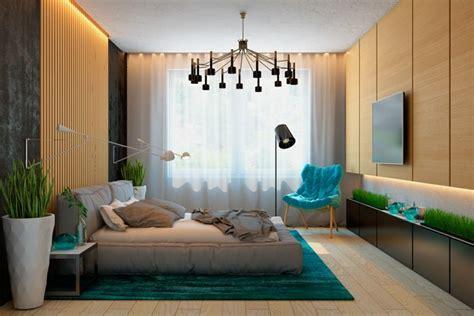 chambre avec lambris bois lambris mural design et panneaux déco en lamelles de bois