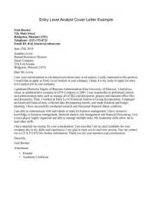 Entry Level Rn Cover Letter Entry Level Cover Letter Exle Sle Resume Format