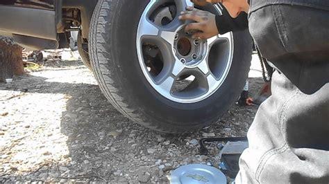 chevy trailblazer brake pad replacement youtube