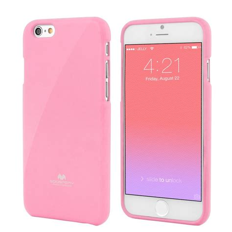 iphone 6 pink apple iphone 6 4 7 quot premium jelly pink by goospery