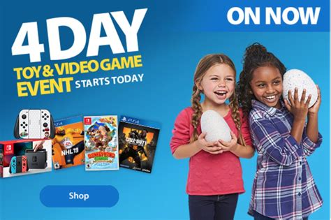 walmart canada black friday  toy video game event