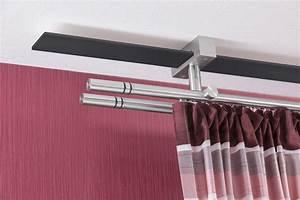 Gardinenschiene 2 Läufig Mit Blende : gardinenstange nexus s decke innenlauf 2 l ufig m10110 ~ Watch28wear.com Haus und Dekorationen