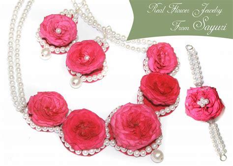 Wedding Flowers To Jewelry