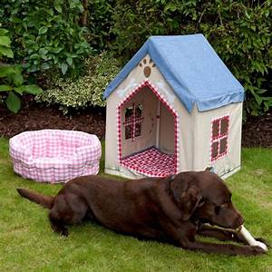 large fabric portable dog house kennel with floor quilt With fabric dog kennel