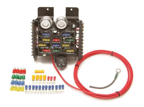 painless wiring   circuit compact universal pro