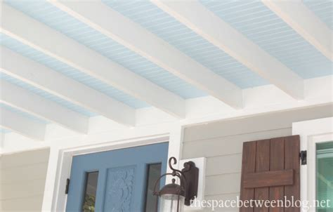 Beadboard For Ceiling : Why Beadboard On The Ceiling Is Nothing At All Like
